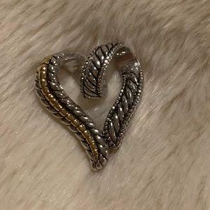 Lia Sophia Heart-Shaped Pendant